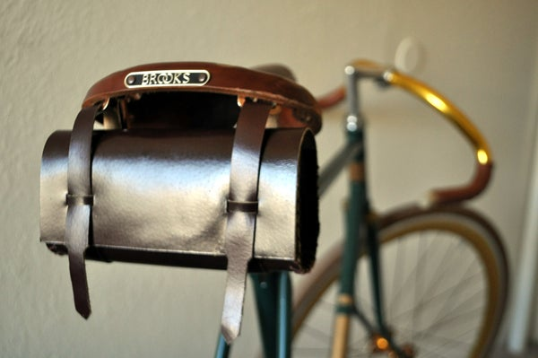 How to Make a $2 Leather Tool Bag for Your Brooks Saddle.