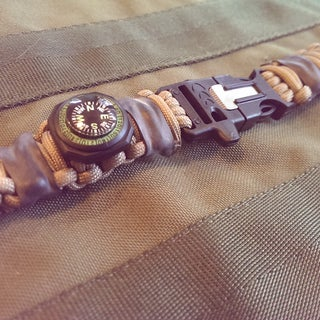 Bug Out Survival Bracelet