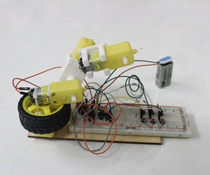 Simple Arm Made With DC Motors