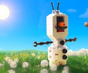 How to Build a LEGO Disney Frozen Olaf
