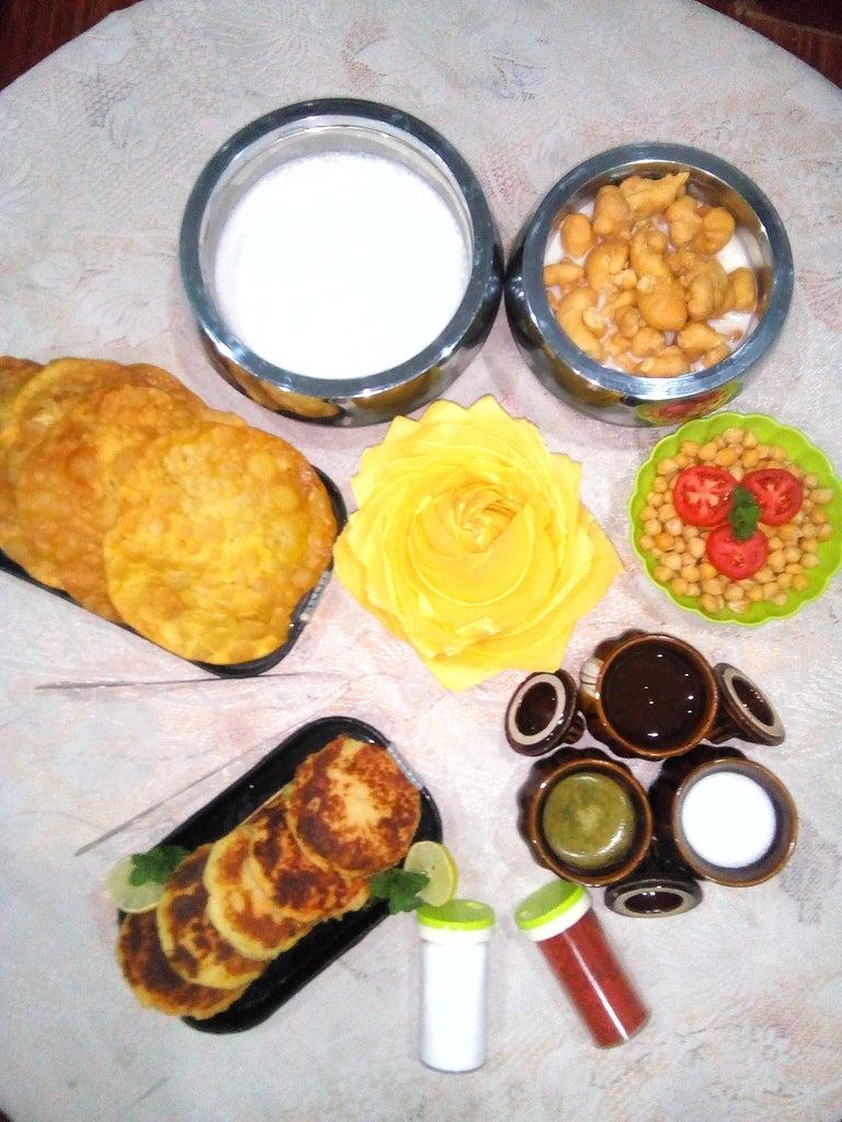 Crispy Potato Patty(Aloo Tikki)