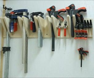 Quick Universal Clamp Rack