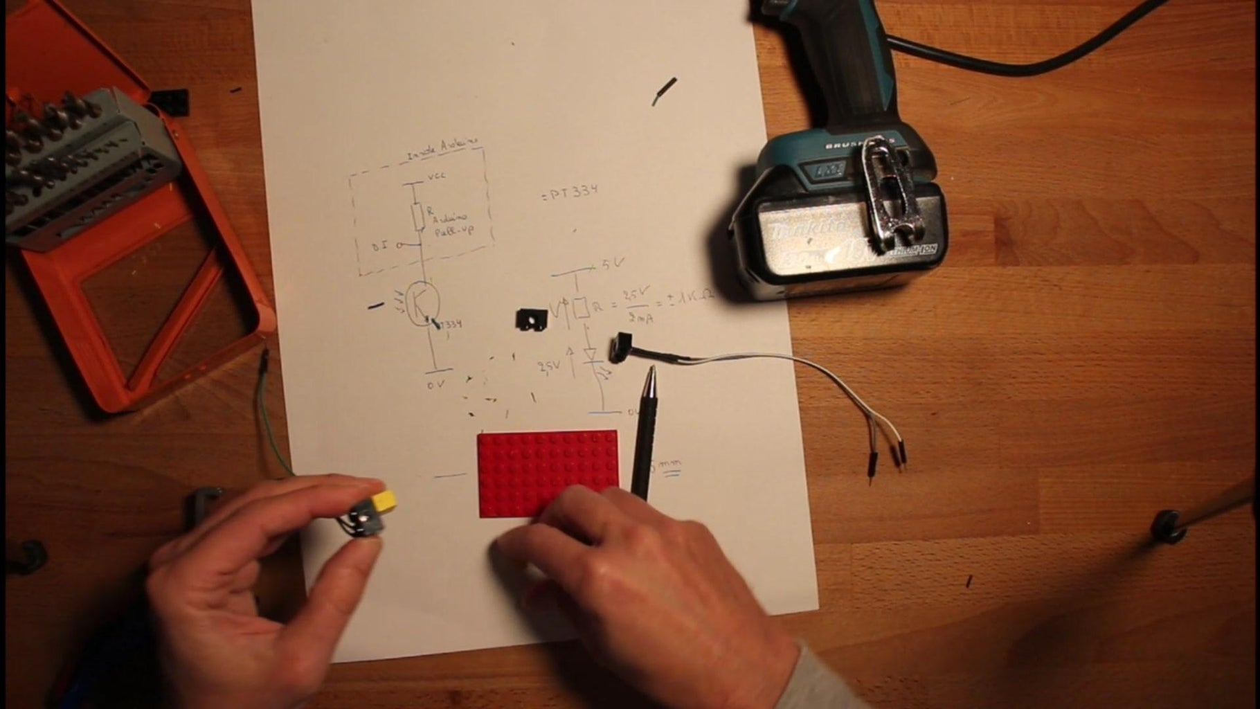 Assembly of Photocell.