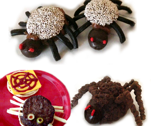 How to Make Halloween Treats That Look Like Spiders