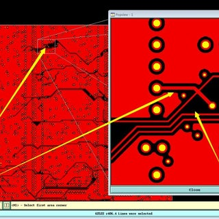 RGB led cube pcb fault.JPG
