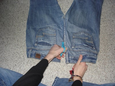 Split Your Jeans Right Down the Middle.
