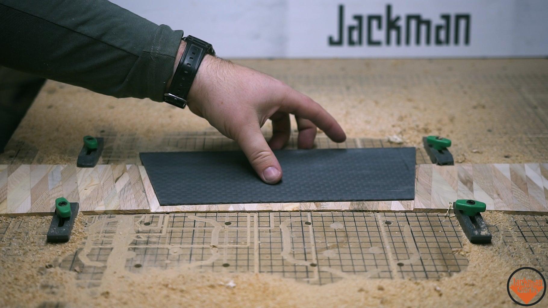 Cutting the Trapezoidal Inlay