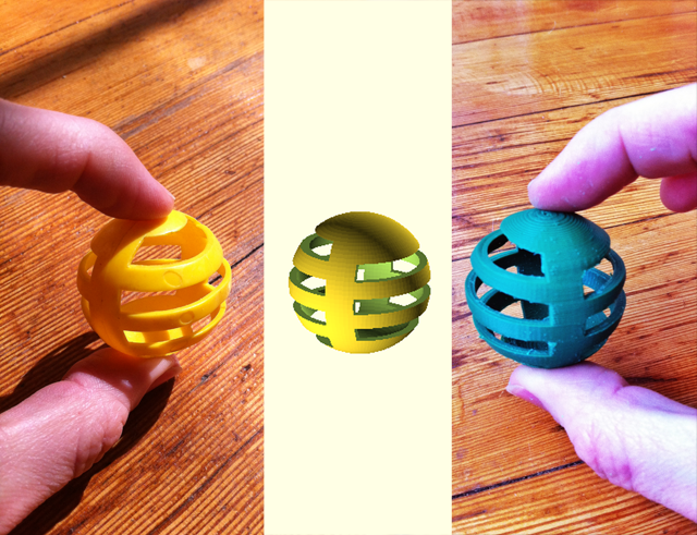 From atoms to bits to atoms: learning OpenSCAD by copying a cat toy