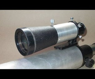 DIY View Finder From Binocular for Homemade Refractor Telescope