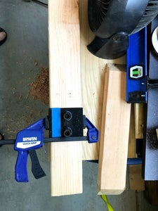 Prepare the Stock Lumber
