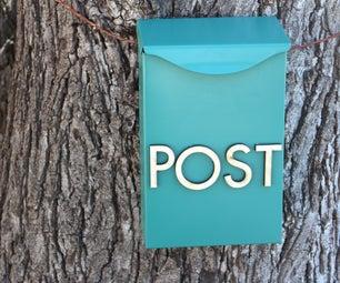 Vintage Mail Box for Kids