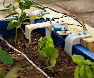 Raspberry Pi Powered IOT Garden