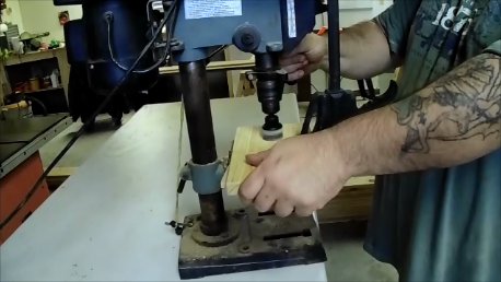 Drill a Hole for a Door