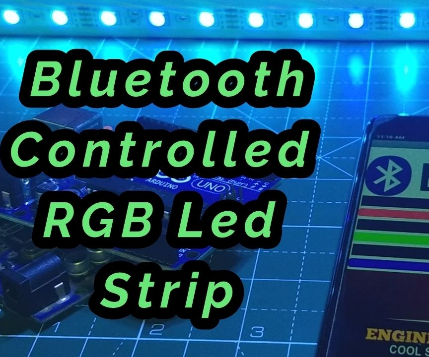 Bluetooth Controlled RGB Light With Android Application