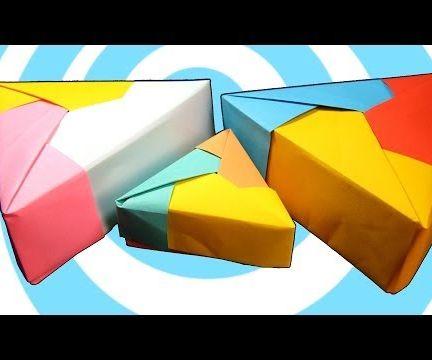 Modular Origami Triangle Box Instructions