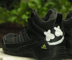 DJ Marshmello Logo on Shoe DIY