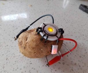 GLaDOS马铃薯复制品(带灯)