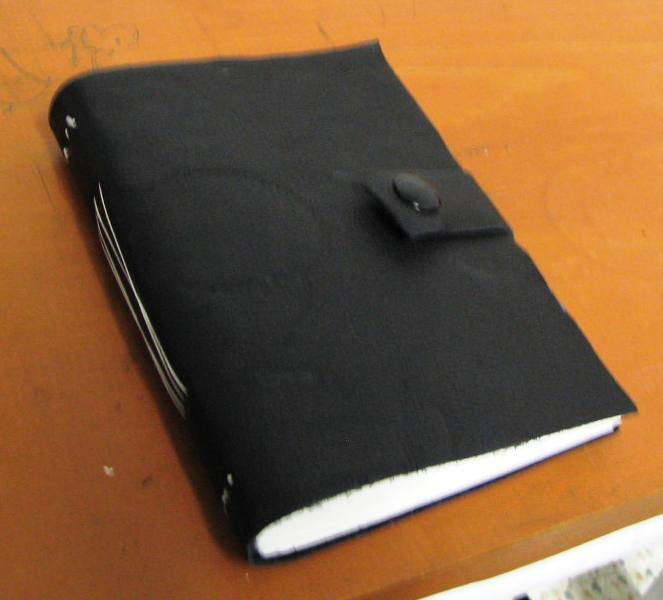 Soft Leather Sketchbook (or notebook)
