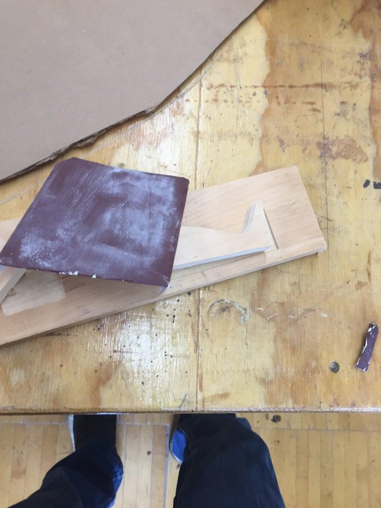 Sanding the Pieces