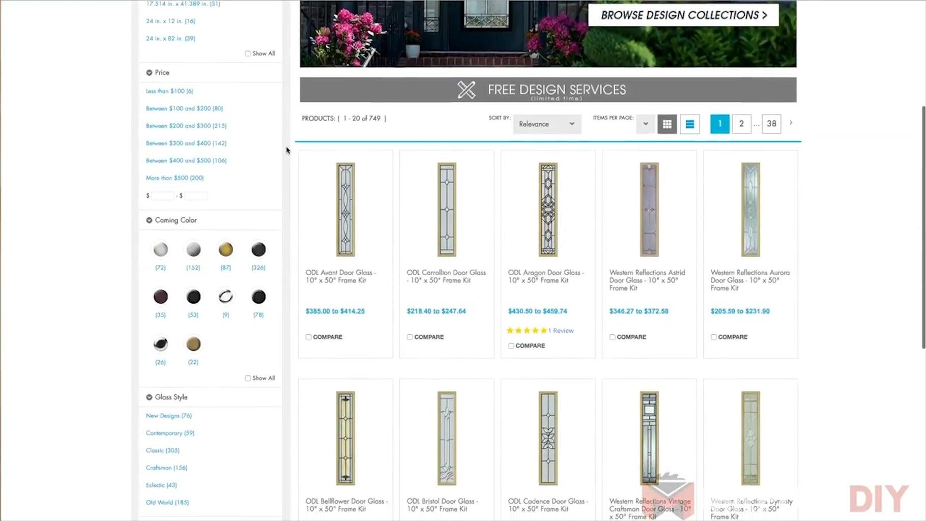 Measure Your Existing Door & Choose Glass