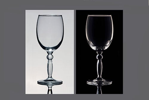 How to Photograph Glass
