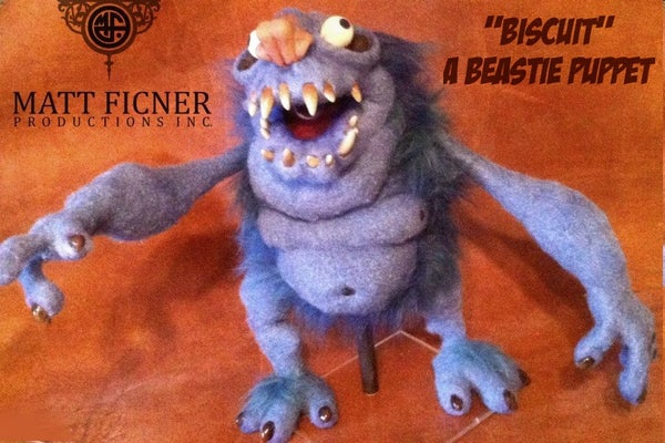 Building a Beastie Called Biscuit:  a Puppet Build.