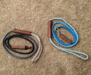 DIY Ombre Paracord Dog Leashes