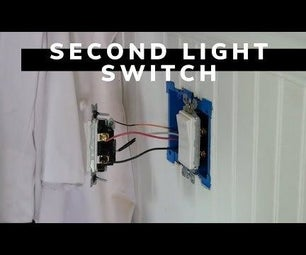 Second Light Switch (2-way to 3-way Conversion)