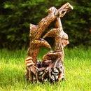 Concrete Tree Fountain - Faux Bois