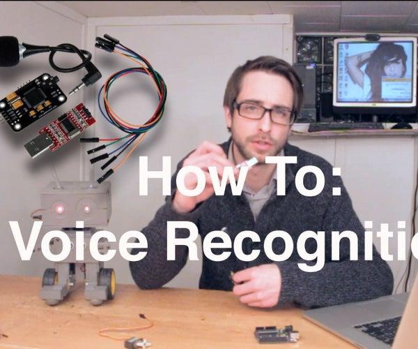Arduino Voice / Speech Recognition With Geeetech Module [Tutorial]
