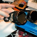 Modifying Welding Goggles into a Steam inspired look