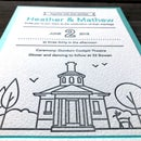 How to Make Affordable DIY Letterpress Wedding Invitations