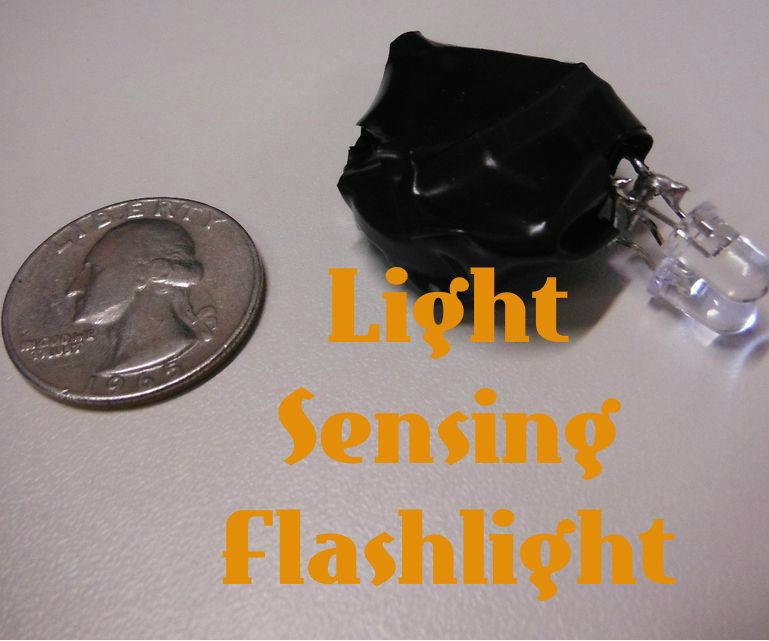 Light Sensing LED Flashlight