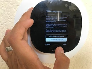Select How to Set Up Wifi