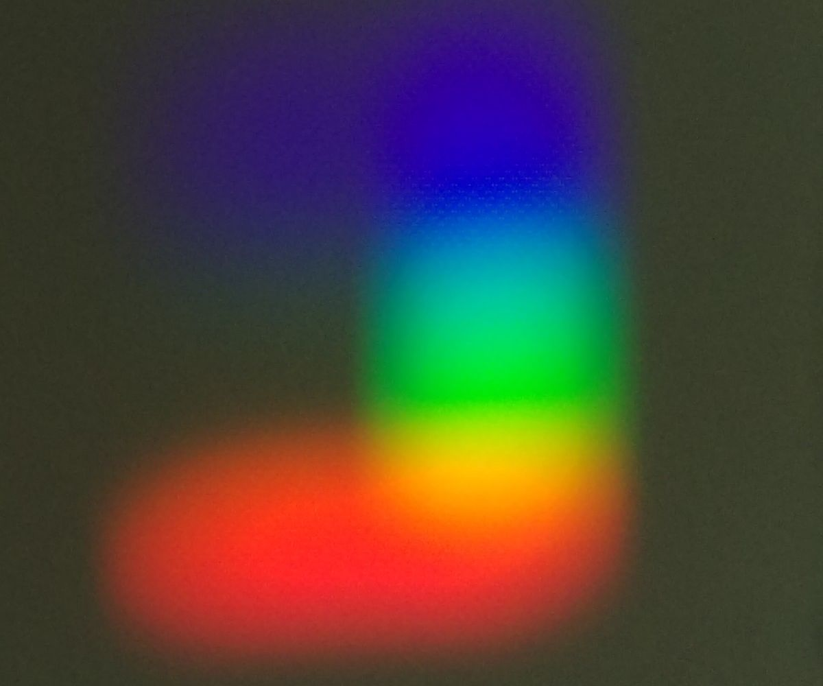 Filtered Rainbows: a Simple Experiment on the Colors of Light