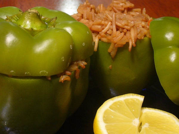 [Collegiate Meals] Stuffed Peppers