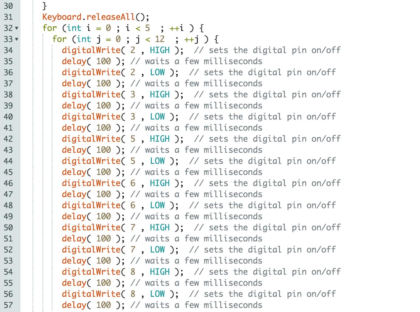 Step 2 : Code!!!!