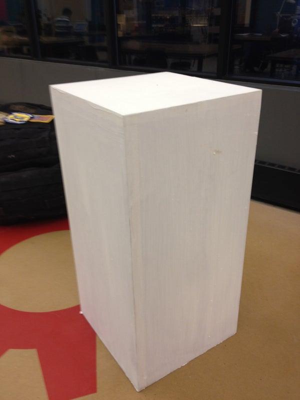 Artist Pedestal I Made at TechShop