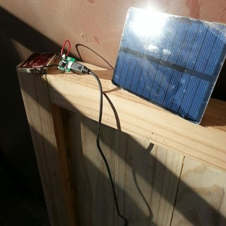 How to Make a Solar Cell Phone Charger