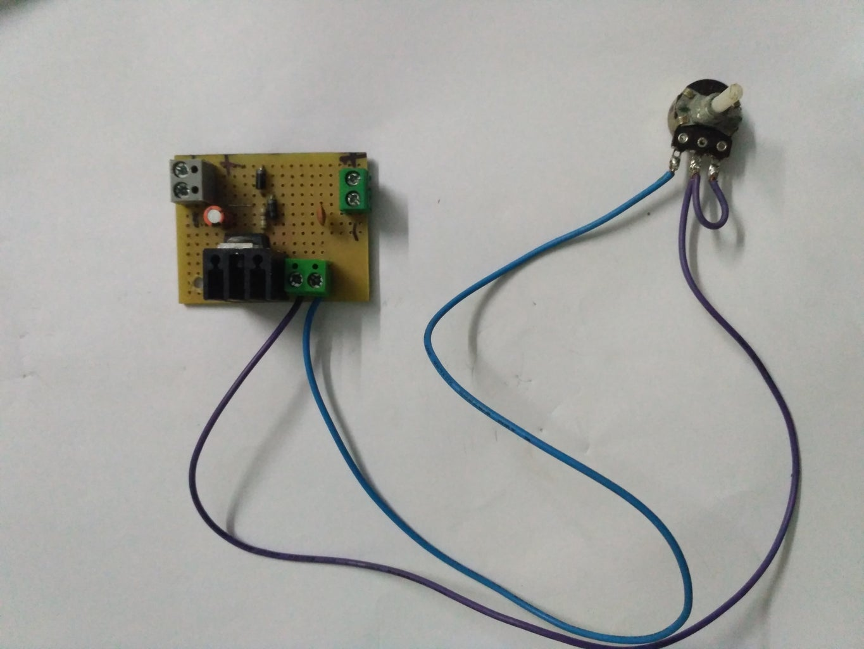 Assembling Adjustable Voltage Regulator