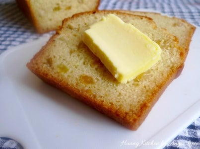 Warm Soda Bread Spread With Butter Is a Delicious Treat.