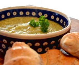 Quick Potato and Leek Soup