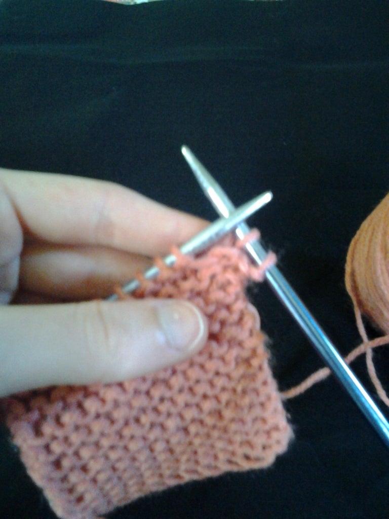 Binding Off One Stitch