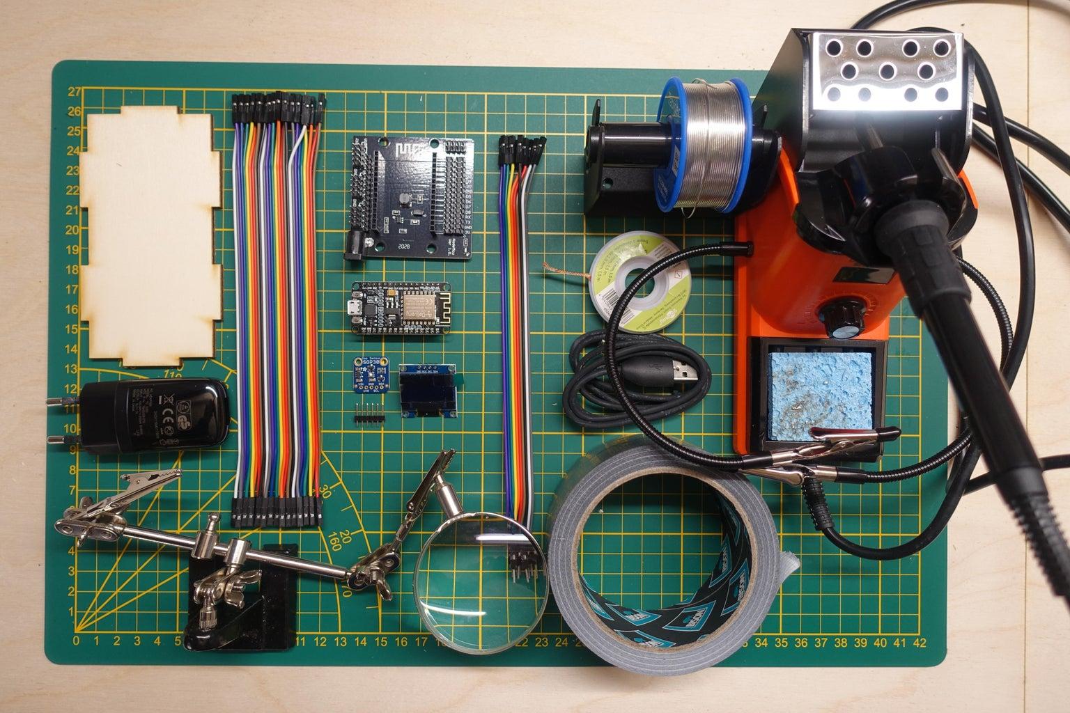 Soldering the SGP30 Sensor
