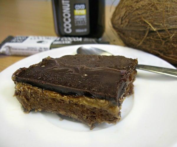 No-bake Cocoa & Peanut Butter Cake