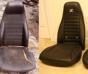 How to Turn Junker Car Seats Into Beautiful Office Chairs