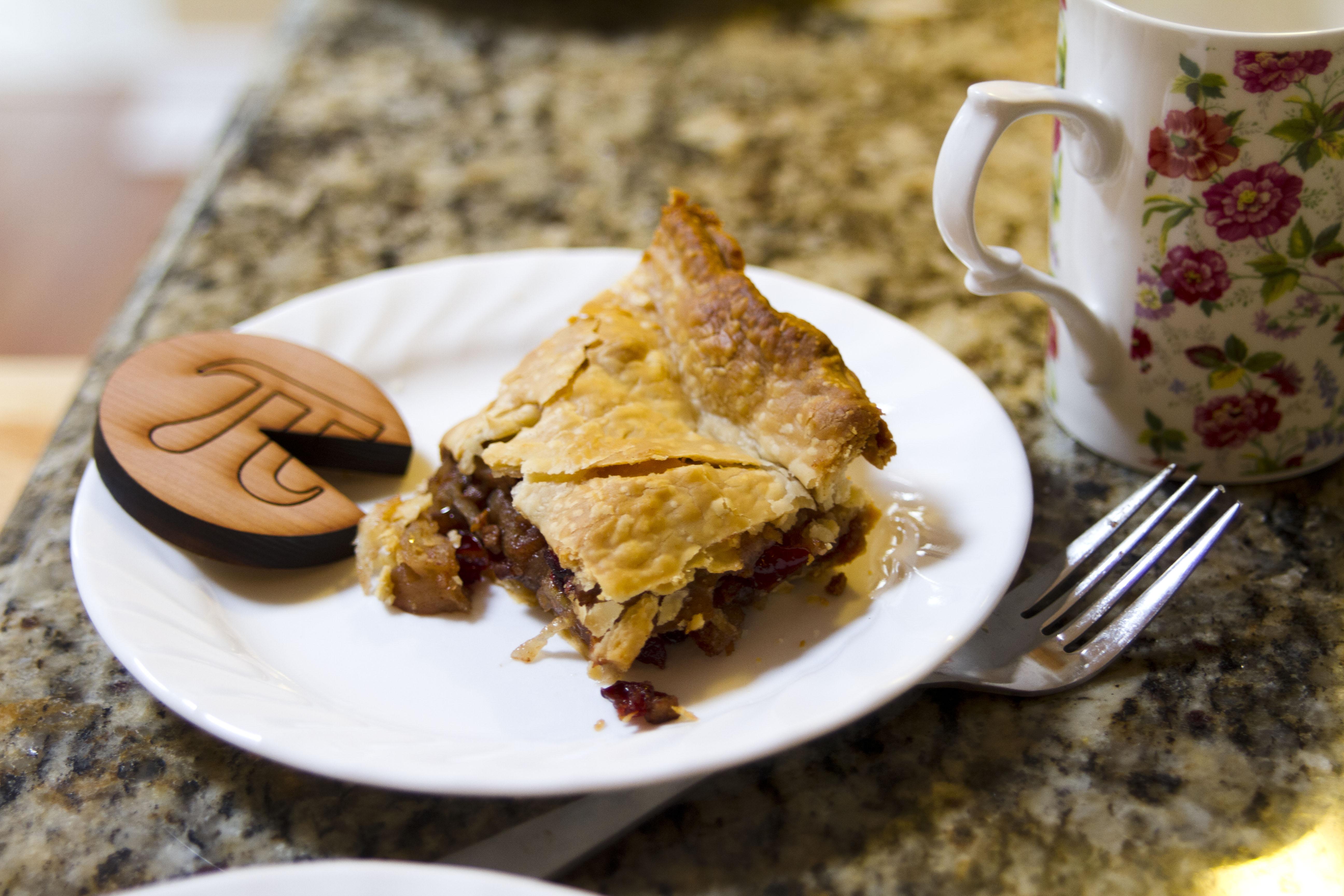 A Slice of Cranberry Apple (Pi) Pie