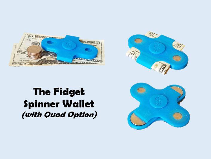Fidget Spinner Wallet