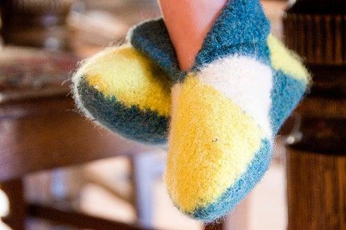Norwegian House Slippers (Crocheted Version)