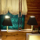 Miss Betsy's Coffee Table Lamp
